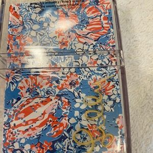 New Lilly Pulitzer Playing Cards & Case